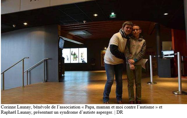 Ouest-France, Vannes. Le Cinéville s'adapte à l'autisme