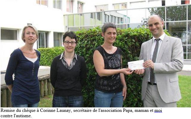 Ouest-France, Ker Anna soutient lutte contre l'autisme