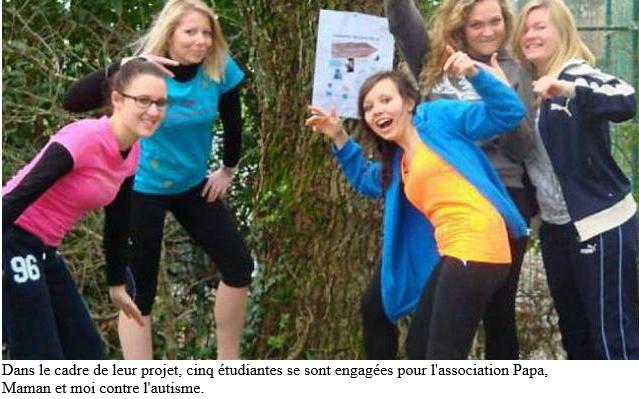 Ouest-France, Lutte contre l'autisme : une marche à Saint-Avé