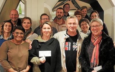 4 000 € collectés par l'association des artisans et commerçants d'Arradon